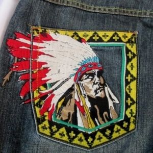 LRG Brand CHIEF ROCKER Embroidered Jeans